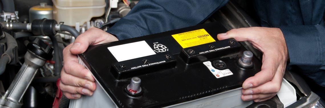 Changement batterie voitur