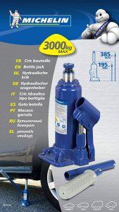 Cric hydraulique Michelin 3T