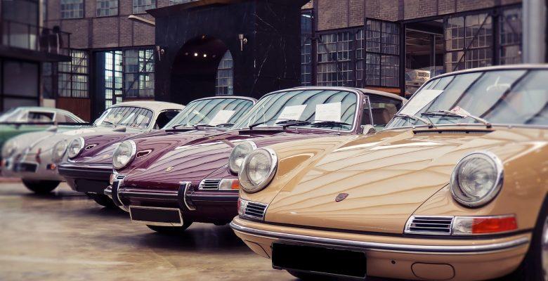 Voiture de collection Porsche