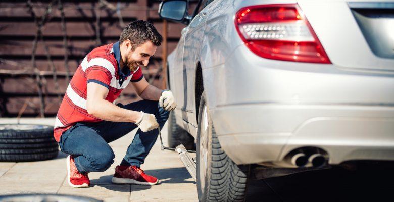 changer un pneu crevé
