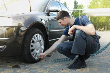 Comment gonfler un pneu voiture ?